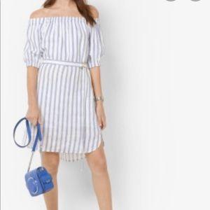 ❣️HP❣️Michael kors off the shoulder dress